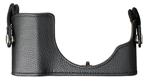 Olympus CS-45B Leder Hülle (geeignet für PEN E-PL7, E-PL8, E-PL9) schwarz