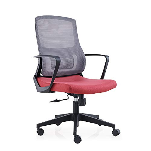 Sweet 10 Ergonomic Office Chair Mesh Back Mesh Office Chair Wheels,Best Office Chair, Mesh Chair Height Adjustable 10CM Comfortable Seat Breathable Thick Pad Low Noise PU Caster