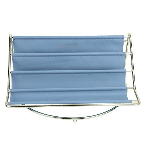 Organizador de maquiagem Organizador de mesa de ferro forjado, recipiente de armazenamento de mesa, controle remoto chave para penteadeira doméstica