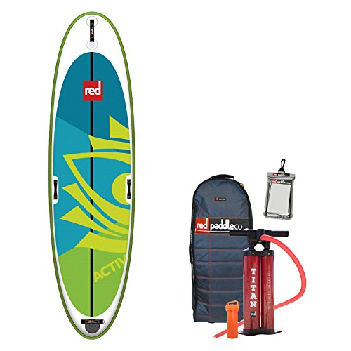 Red Paddle Co 2018 Activ 10'8 Inflatable Stand Up Paddle Board +...
