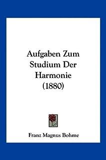 Aufgaben Zum Studium Der Harmonie (1880)
