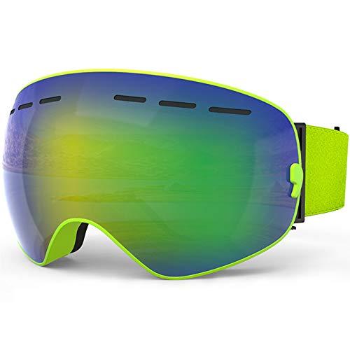 ZYQDRZ Kinderskibrille, Zweilagige Antibeschlagbrille, Geeignet Für Wintersport-Snowboardbrillen...