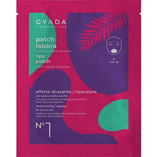 Gyada Cosmetics PATCH LABBRA N. 1 IDRATANTE/RIPARATORE ● CERTIFICATO BIO ● MADE IN ITALY ● 5 ml