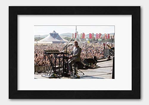 Two Door Cinema Club - At T in The Park 2013 Scotland Poster 2 Black Frame 29.7x42cm (A3) White