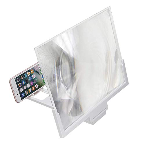 Lynn 14Inch 3D Screen Magnifier HD Phone Screen Enlarger Amplifier Glass with Foldable Stand 14-Zoll-3D-Bildschirmlupe HD-Telefonvergrößerungsglas mit klappbarem Ständer