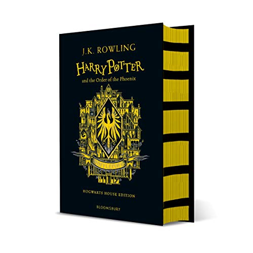 Harry Potter and the Order of the Phoenix: J.K. Rowling  (Hufflepuff Edition - Yellow)