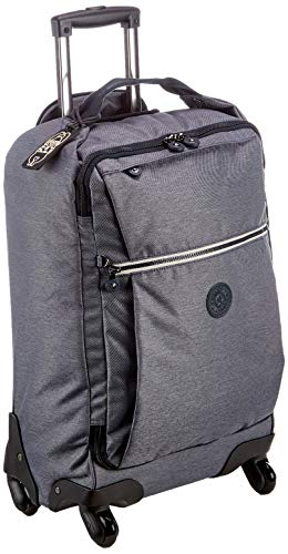 Kipling Darcey Hand Luggage, 55 cm, 30 liters, Black (Charcoal)