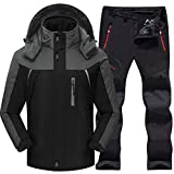 SHUHANX Impermeables Outdoor Ski Suit Men S Windproof Waterproof Thermal Snowboard...