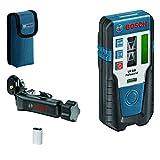 Bosch Professional Laser-Empfänger LR 1 G (grüner Strahl, 1x 9-V-Batterie, Reichweite: 0–200 m)