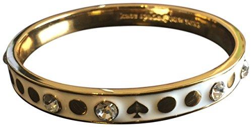 Kate Spade Spot The Spade Bangle Bracelet, Cream