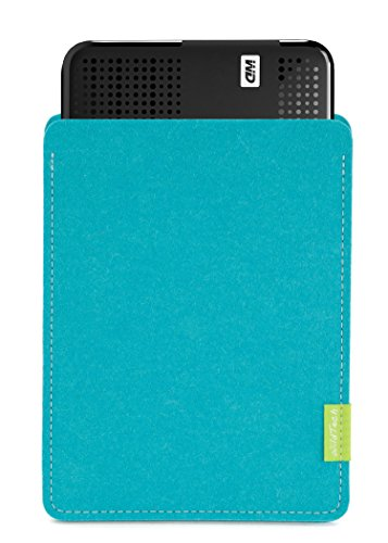 WildTech–Funda para WD My Passport Wireless Pro Disco Duro HDD 2,5pulgadas Funda–17colores (fabricado a mano en Alemania)