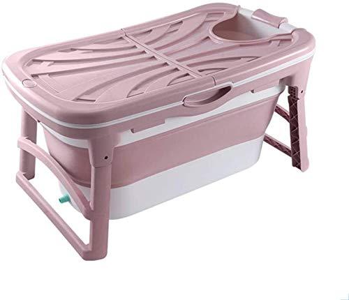 Bañera adulto portatil bañera plegable bañera Bañera plegable, portátil Baño Bañera de hidromasaje for adultos bebé niños pequeños, tina de baño en plato de ducha de hidromasaje doble Drenajes Baño Ba