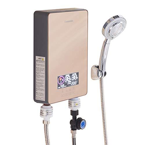 MYRSQ 220V 7KW Calentador de Agua instantáneo controlado electrónicamente, termostato de la Ducha del baño para la Cocina, Hotel, salón de Belleza