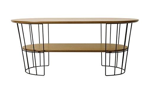 Josefine Table Basse, Chêne, Beige, 110x60x45 cm