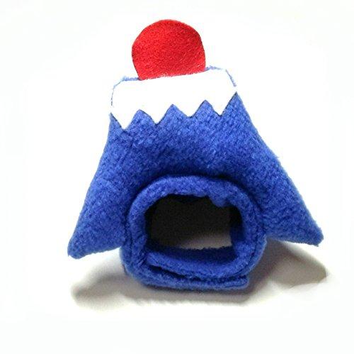 犬猫用コスプレ 富士山のかぶりもの(帽子) (L:39~45cm)