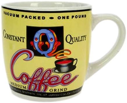 Preisvergleich für Old Coffee House Kaffeebecher, Kaffee Becher, Kaffeetasse, Tasse, Gelb, 230 ml