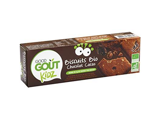 Good Goût - BIO - Kidz Biscuits Chocolat Cacao dès 3 Ans 110 g