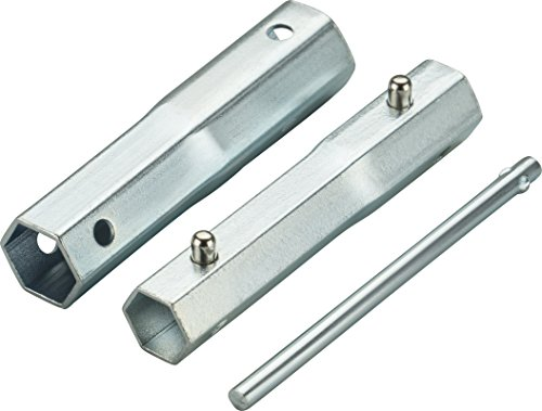 ARNOLD 6111-ZK-0001 4-in-1 Zündkerzenschlüssel AZ96 für SW 16, 18, 19, 21 mm