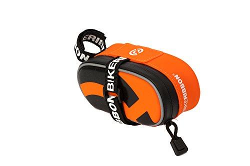 Bike Ribbon–Bolsa para sillín Sio2Bag Small, Color Naranja - Naranja, tamaño 14 x 6 x 2.2 cm, 0.4 Liter, Volumen Liters 0.4