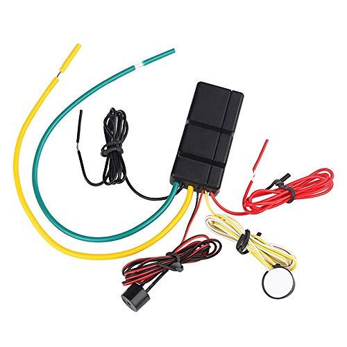 Nrpfell EL-1 RFID 2.4GH Inmovilizador InaláMbrico Bloqueo del Motor del AutomóVil Encendido Apagado Alarma de Corte de Circuito Inteligente Motor de Corte AutomáTico