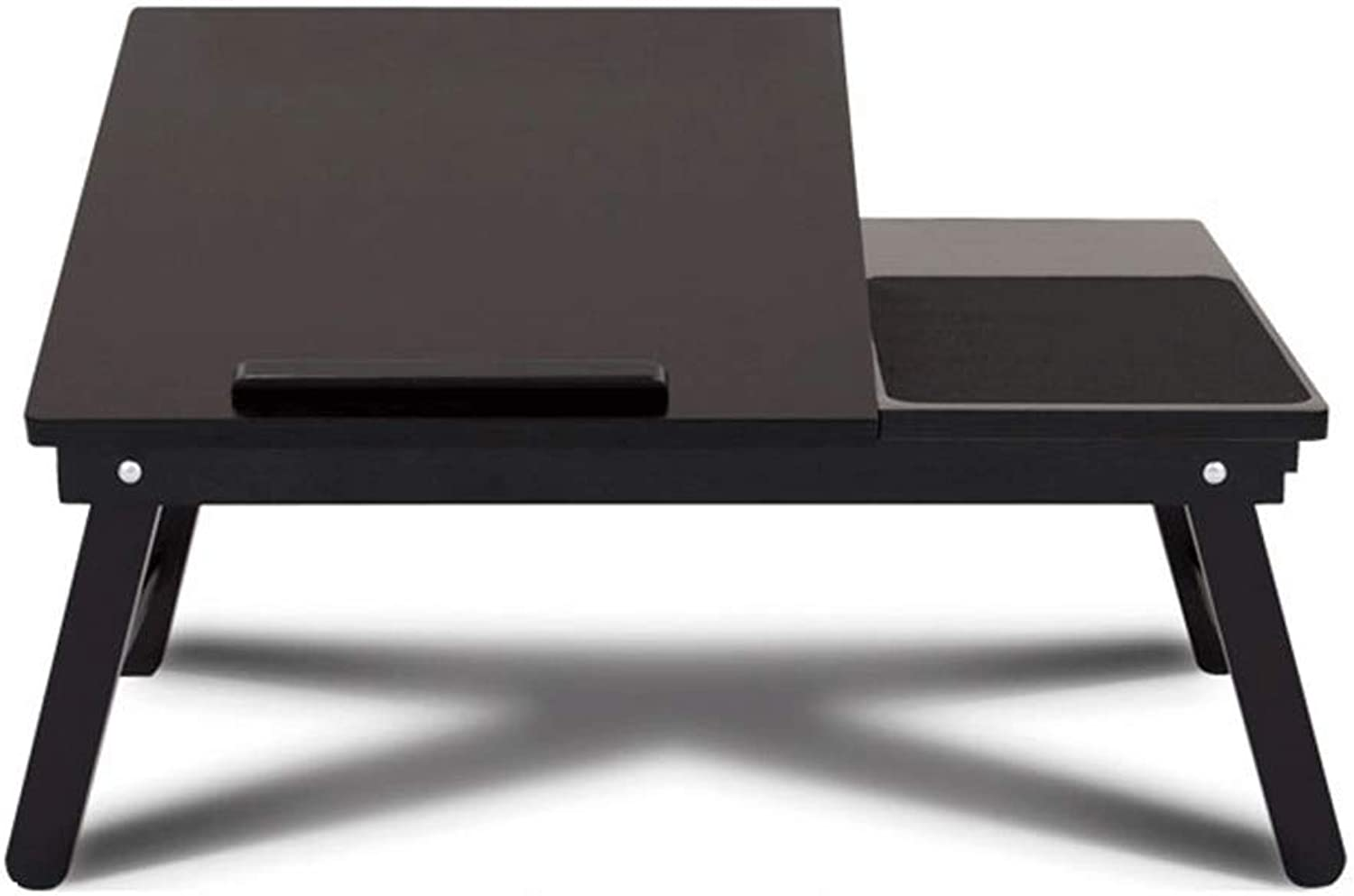 Laptop Desk Solid Wood Home folding table Black