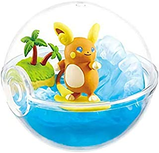 Re-Ment Pokemon Terrarium Collection EX Alola Raichu Character Capsule Toy Mini Figure Collection Vol.2