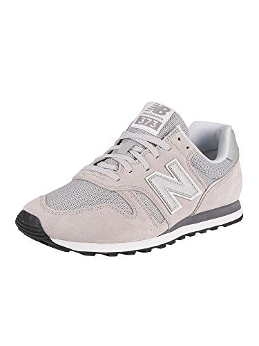 New Balance Herren ML373 Sneaker, Grau (Grey/White Ce2), 45.5 EU