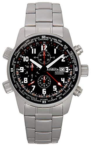 Astroavia Reloj cronógrafo de Cuarzo para Hombre NTK61SL