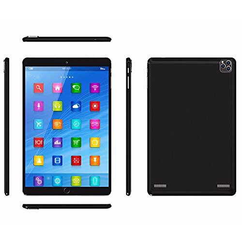 LINGOSHUN Tableta Android,Pantalla 800 X1280 HD, Batería de 3200 MAh,1 GB de RAM,16 GB de ROM,10,1 Pulgadas Tablet,Compatible con GPS, Wi-Fi Y Bluetooth/Negro / 2+2MP