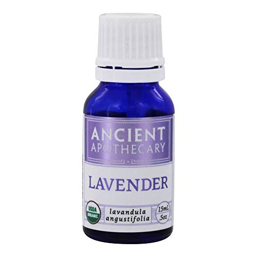 Lavender Organic Essential Oil from Ancient Nutrition, 15 mL - 100% Pure and Therapeutic Grade…