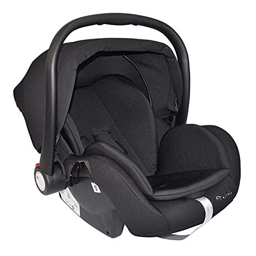 Pixini Aluna V2 - Asiento infantil para coche (0-13 kg), color negro