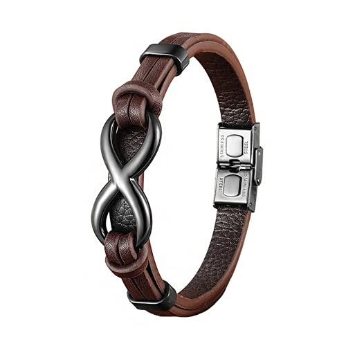 UNIQAL | Unendlichkeit Leder Armband