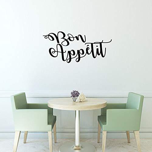 Tianpengyuanshuai muursticker voor restaurant, keuken, restaurant, decoratief design, vinyl, zelfklevend