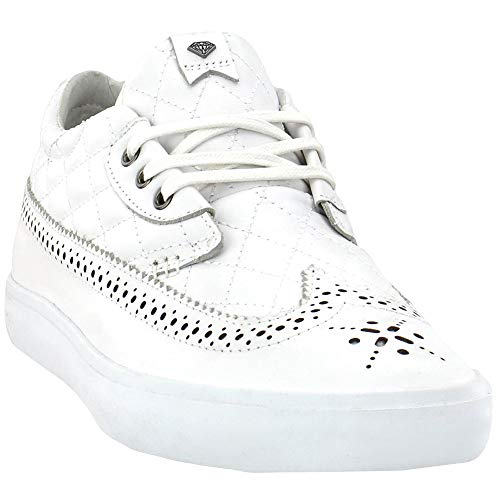 Diamond Supply Co. Mens Diamond Nt-1 Shoe Lace Up Sneakers Shoes Casual - White - Size 9.5 D