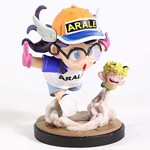 Dragon Ball Anime Estatua Figura de Anime Arale Sound Accesorios de decoración de Escritorio 15CM