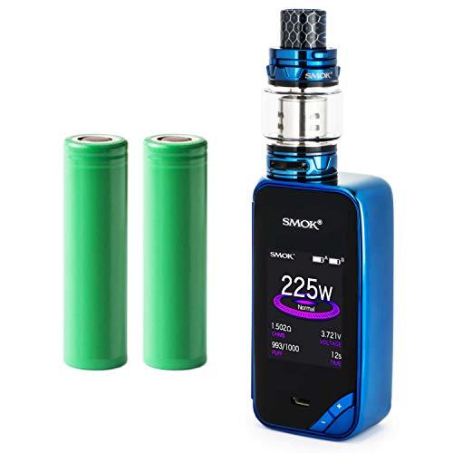 Smok X-Priv Kit inkl. TFV12 Prince (8ml) 5000 mAh E-Zigaretten-Set E-Zigarette Starterset (nikotinfrei) (blau)