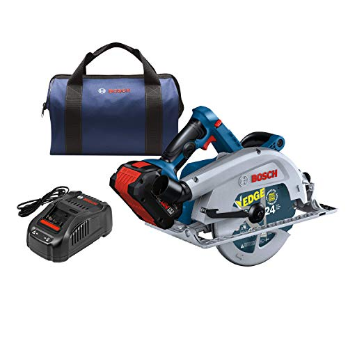 Bosch PROFACTOR 18V STRONG ARM GKS18V-25CB14 Cordless 7-1/4 In. Circular Saw Kit with BiTurbo Brushless Technology, Includes (1) CORE18V 8.0 Ah PROFACTOR Performance Battery