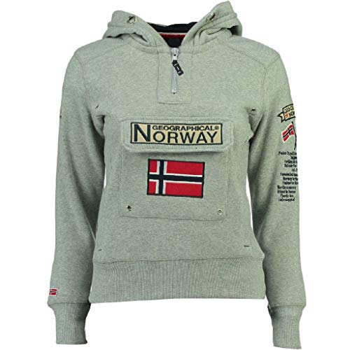 Geographical Norway Sudadera Mujer GYMCLASS A Gris Melange S