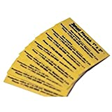 Plastabs with Zerust Rust Prevention and Protection 1' x 3' - Pack of 10