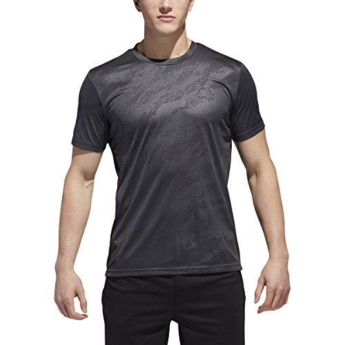 adidas Training Moto Camo Emboss Tech tee, Negro/Gris Cinco