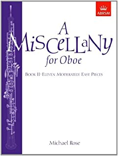 A Miscellany for Oboe, Book II: Eleven moderately easy pieces