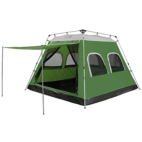 Qisan Pop Up tent 5-8 Person Automatic Instant Camping Tent Outdoor Quick Open Waterproof Family...