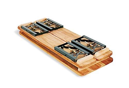Pinolino Kinderfestzeltgarnitur Sepp, aus Holz und Metall, 3-teilig, einfach zusammenklappbar, empfohlen für Kinder ab 3 Jahren - 2