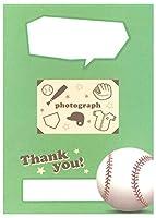 [Clothes・Pin] スポーツ色紙 [野球] ~卒業・引退する先輩たちへ~ 5冊