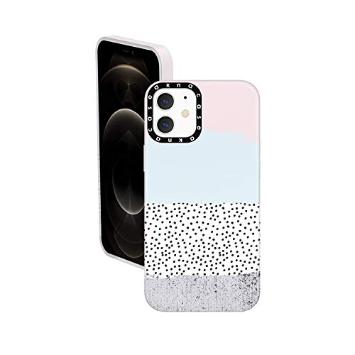 iPhone 12 Mini Case Marble, Akna Cat Series High Impact Silicon Cover with Ultra Full HD Graphics for iPhone 12 Mini (Design 102691-US)