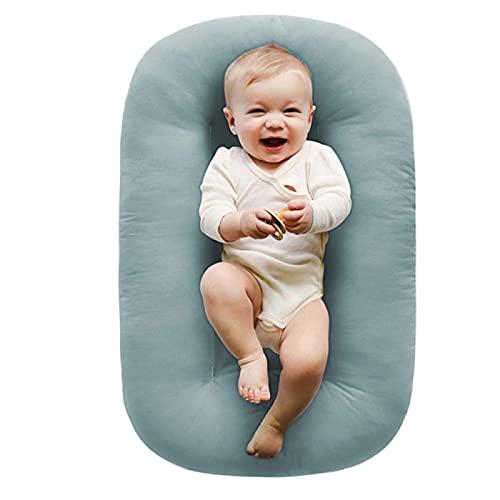 Jingmei Nuevo Nido Reductor para Cuna - 100% algodón Suave Transpirable Nido Bebe Recien Nacido Jane, Adecuado para bebés de 0 a 9 Meses BesBet