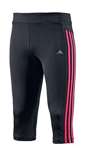 adidas Youth Girls Clima para Mujer Chica Training Core 3/4 para Mujer, Color Negro - Negro/Rosa, tamaño 6 años (116 cm)