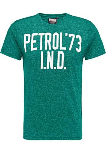 Petrol Industries MEN Camiseta para hombre M-SS18-TSR638 Grass oscuro. XXL