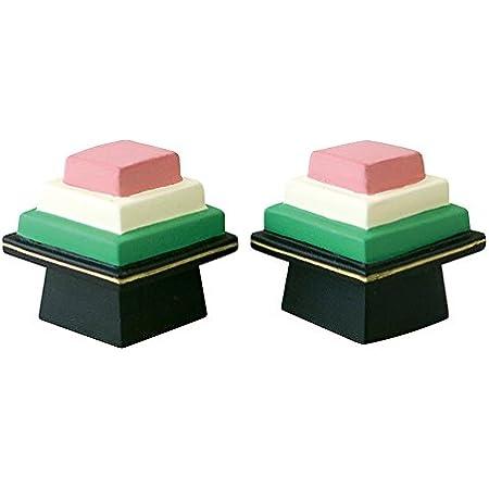 デコレ コンコンブル concombre 菱餅セット 2.5×2×H2cm/1個サイズ ZMM-37043