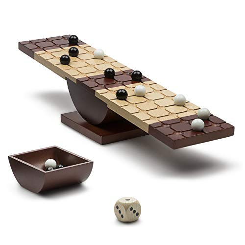 Marbles 6044798 Rock Me Archimedes – Balancing Board Game, Multicolor